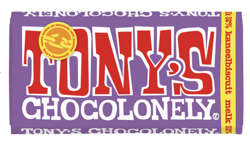 Tony's Chocolonely Melk Kaneelbiscuit