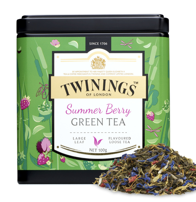 Twinings Thee Platinum Summer Berry los 100 gr.
