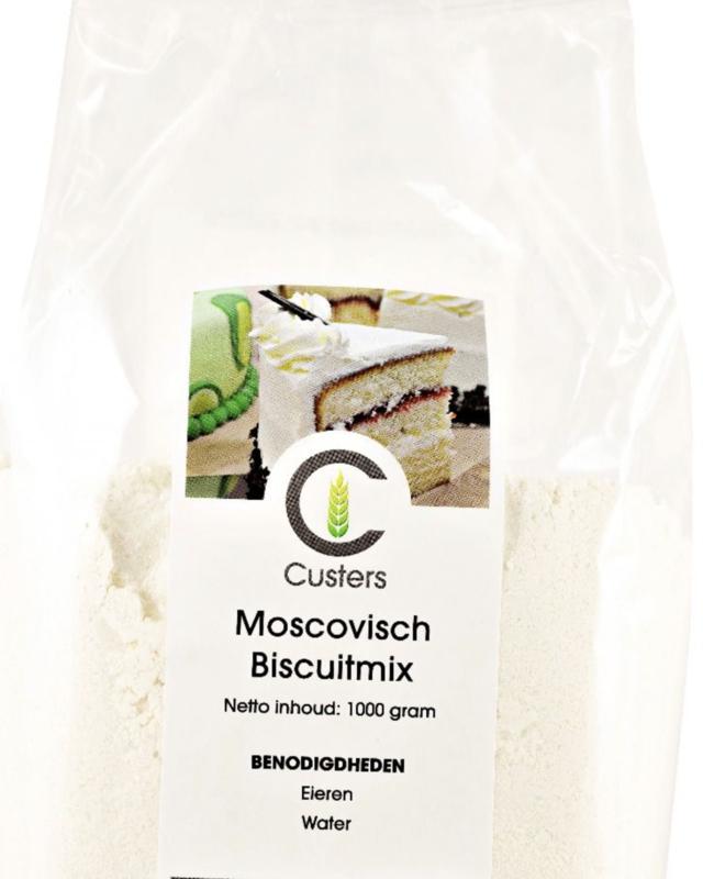 Custers Moscovisch Biscuitmix 1 kg.