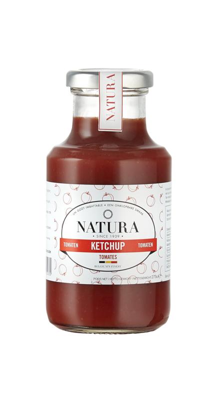 Natura Tomaten Ketchup met Piemonte tomaten
