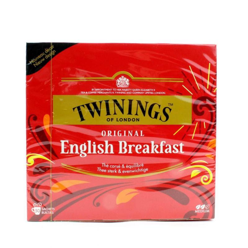 Twinings Thee English Breakfast 50 st.
