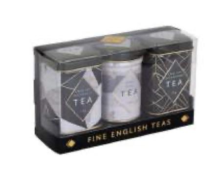 New English Tea Mini Tea Art Déco 3 x 25 gram in blik