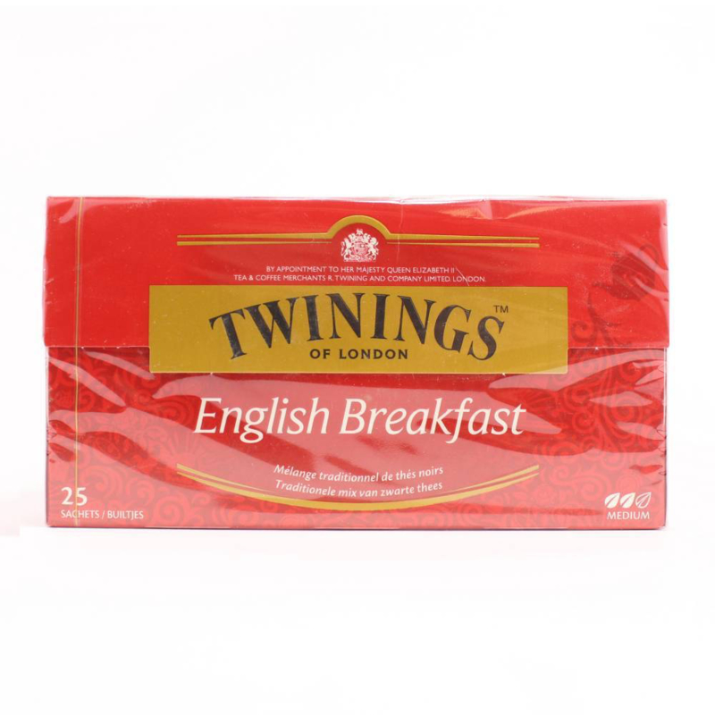 Twinings Thee English Breakfast 25 st. (zwart)