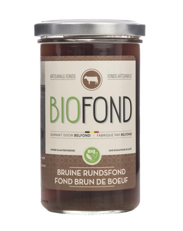 Belfond BIO bruine Rundsfond