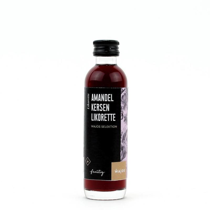 Wajos Amandel kersen likeur 40 ml.