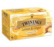 Twinings Thee Infusions Lemon & Ginger 25 st.