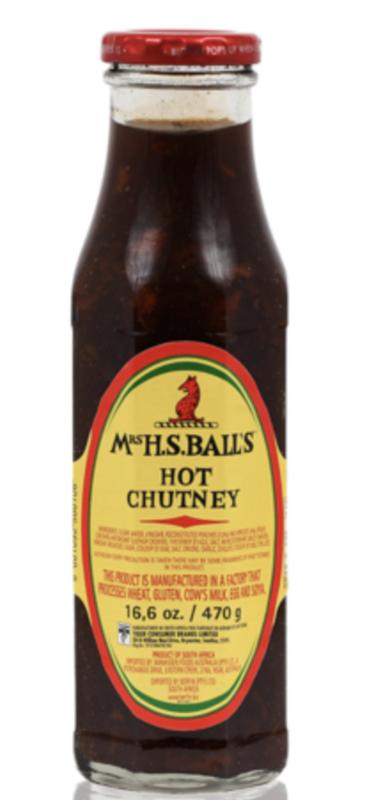 Mrs H.S. Ball's Chutney Hot
