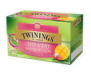 Twinings Thee Green Mango & Litchi 20 st. (groen)