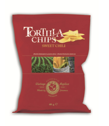 Fox Tortilla Chips Sweet Chili 40 gram