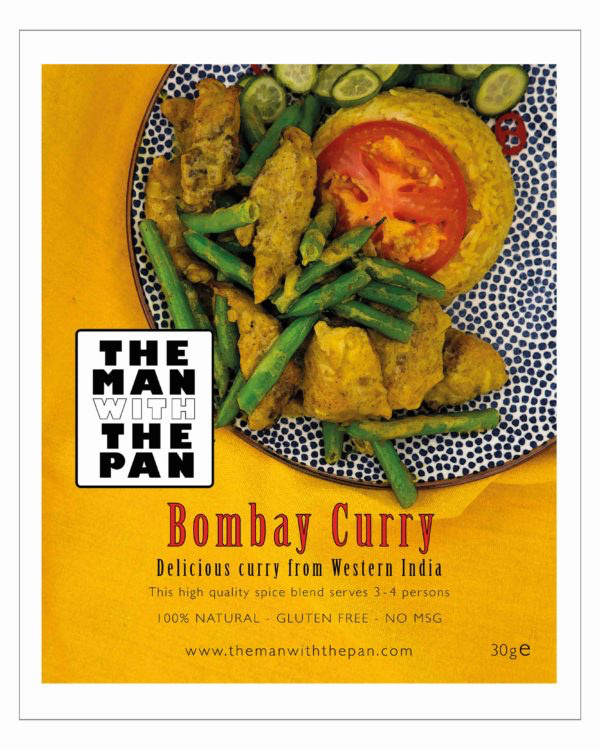 The MAN with the PAN Spice Blend Bombay chicken Curry