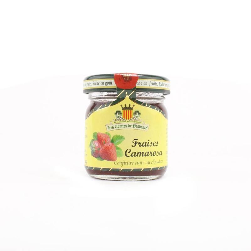 Les Confitures de Haute Provence MINI aardbei Camarosa