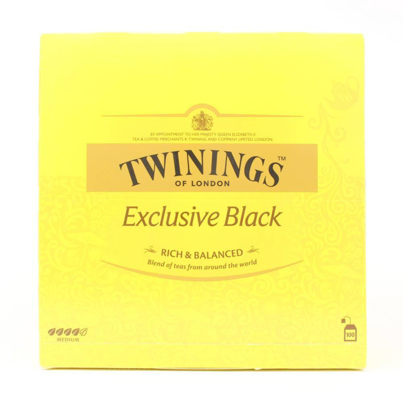 Twinings Thee Exclusive Black tea 100 st.