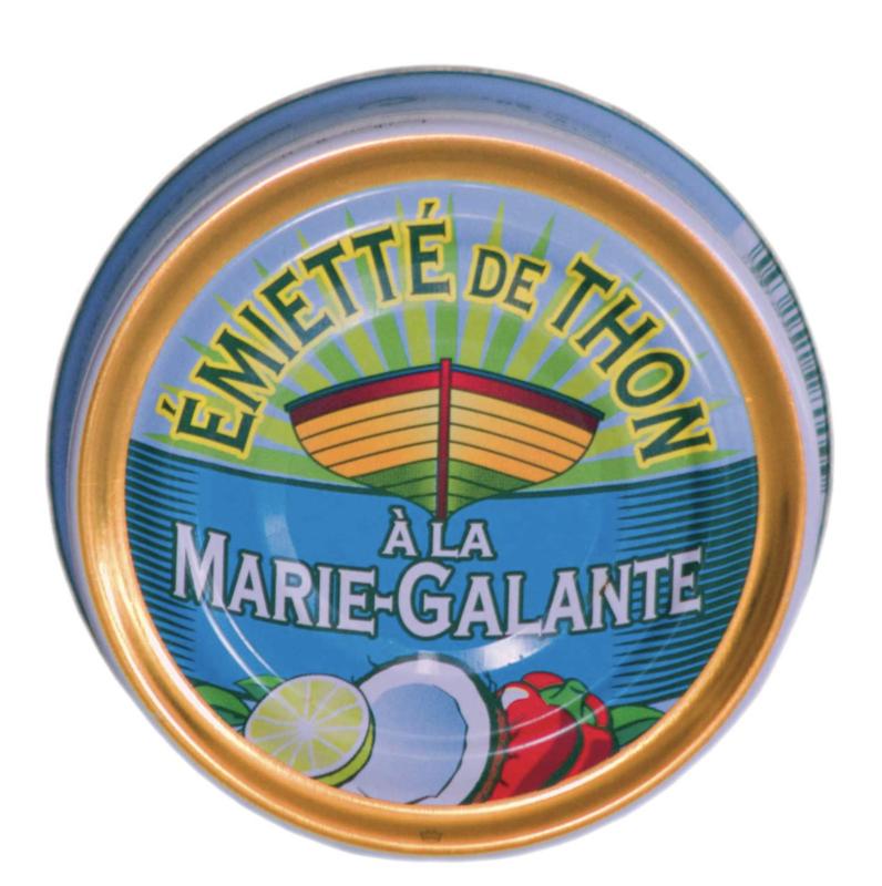 La Belle-Iloise - Emietté van Tonijn à la Marie-Galante