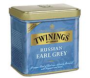 Twinings Thee Los in blik Russian Earl Grey 150 gram