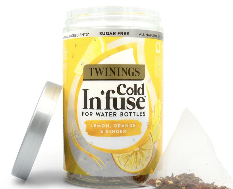 Twinings Cold Infuse Citroen Sinaasappel Gember
