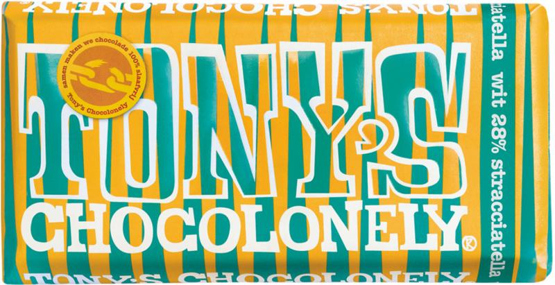 Tony's Chocolonely Wit Stracciatella LIMITED EDITION