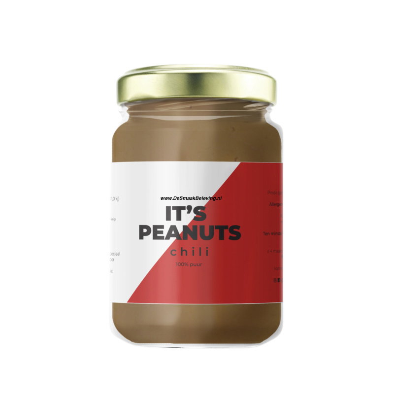 Zoete Moed It's Peanuts Pindakaas Chili