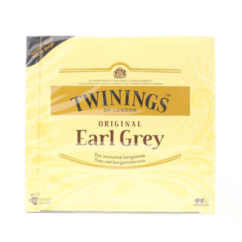 Twinings Thee Earl Grey 50 st.