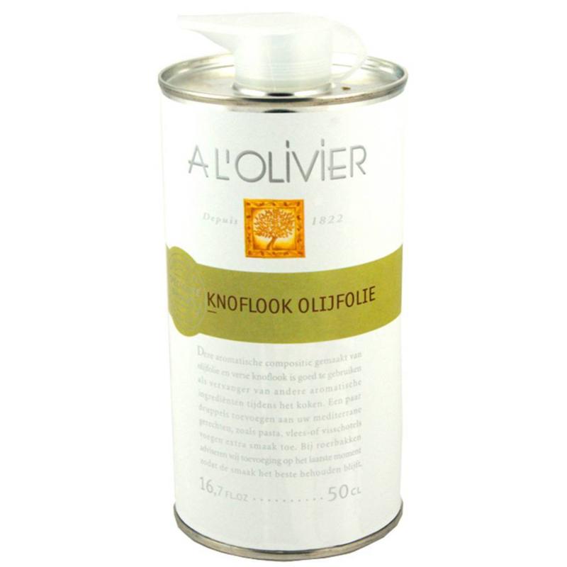 A L'olivier Knoflook Olijfolie