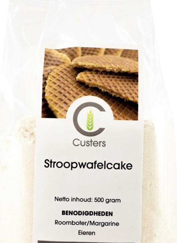 Custers Stroopwafel Cakemix 500 gram