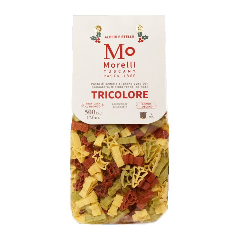 Morelli Pasta Tricolor Winterpasta