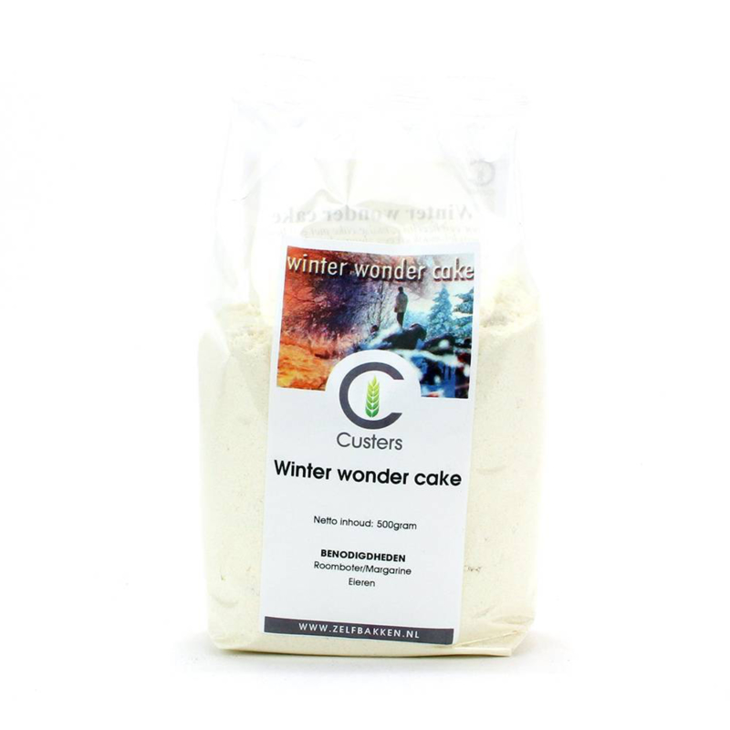 Custers Winter wonder Cakemix 500 gram