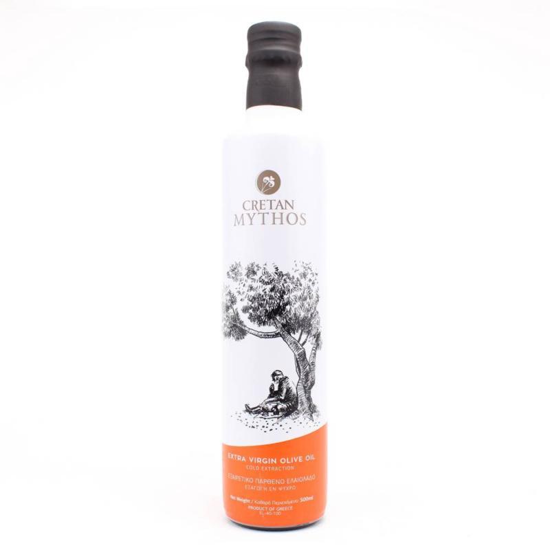 Cretan Mythos olijfolie in Dorica fles 500 ml.