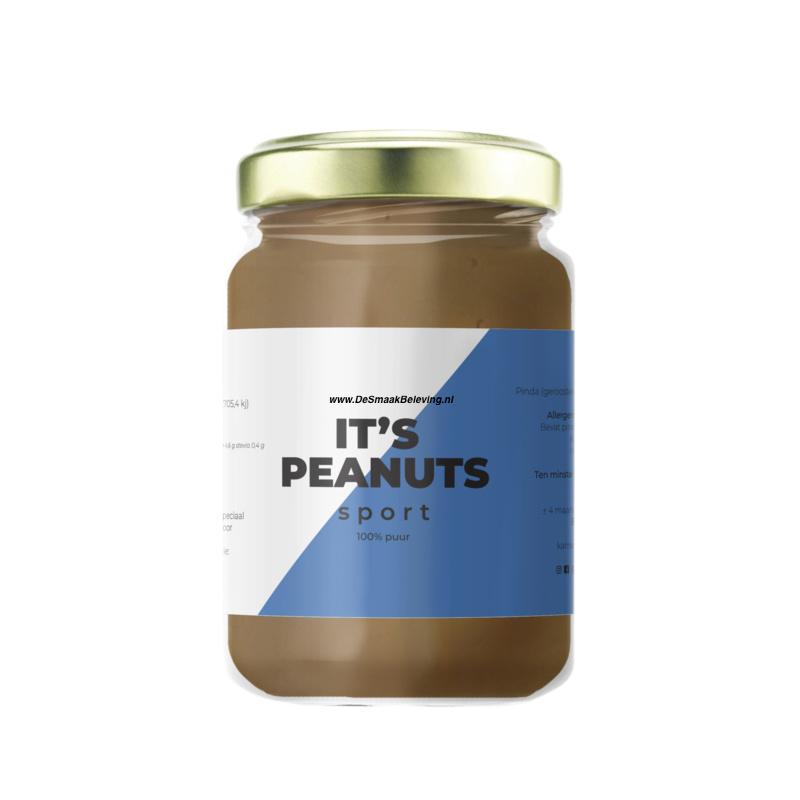 Zoete Moed It's Peanuts Pindakaas Sport