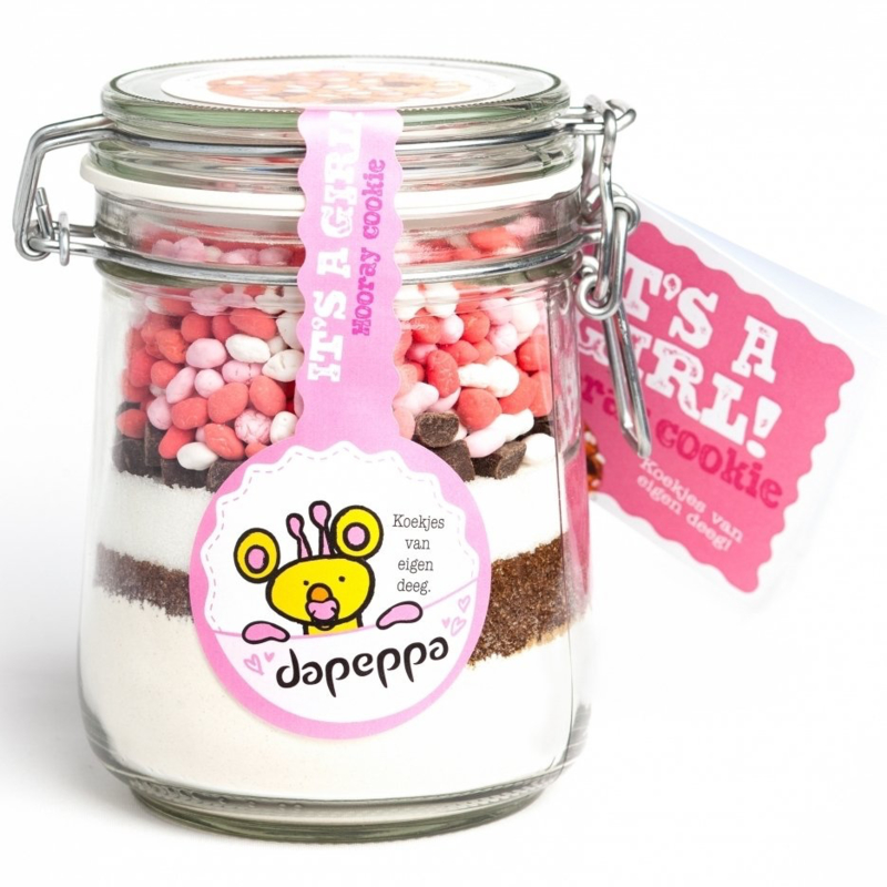 Dapeppa Koekjespot It's a Girl