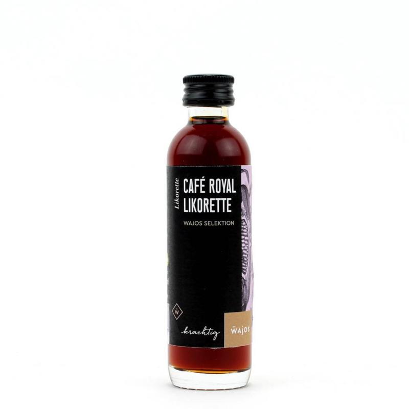 Wajos Cafe Royal likeur 40 ml.