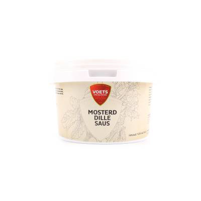 Mosterd dille saus emmertje 500 ml.