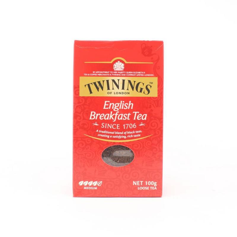 Twinings Thee los in karton English Breakfast 100 gram