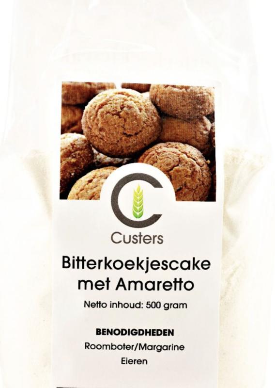 Custers Cakemix Amaretto Bitterkoekjes 500 gram