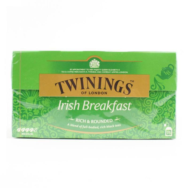 Twinings Thee Irish breakfast 25 st. (zwart)