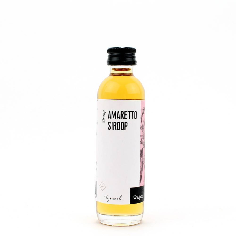 Wajos Amaretto siroop 40 ml.
