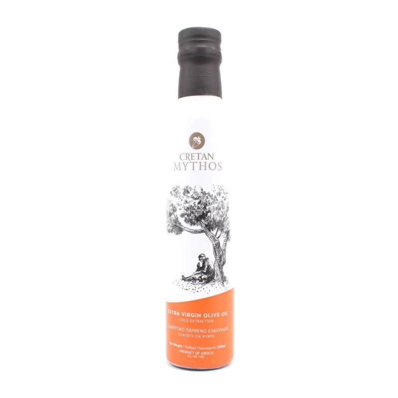 Cretan Mythos olijfolie in Dorica fles 250 ml.