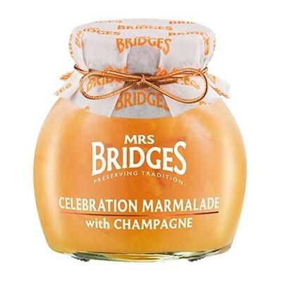 Mrs Bridges Celebration Marmelade met Champagne