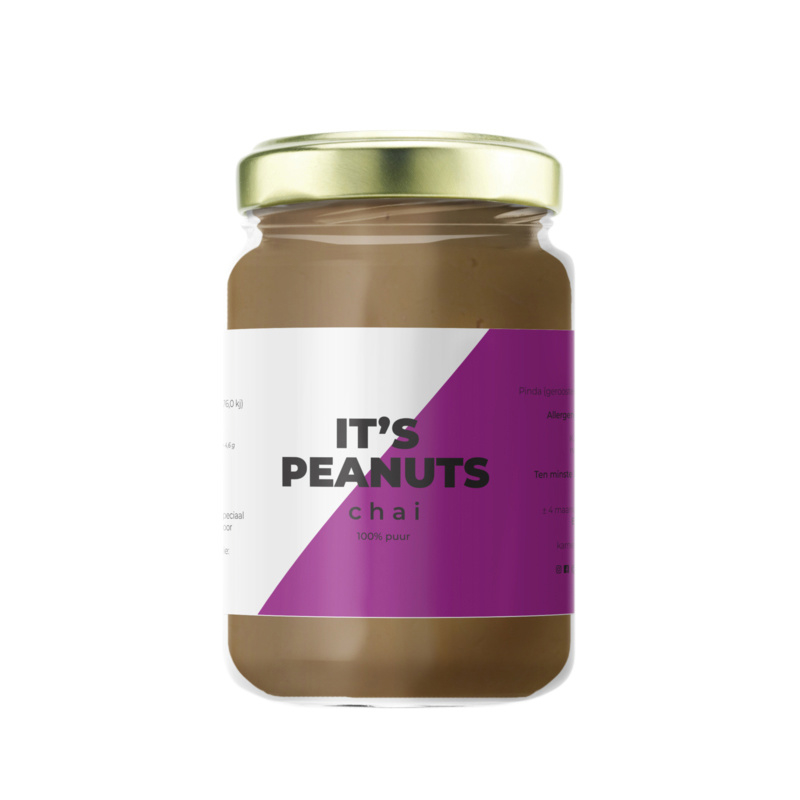 Zoete Moed It's Peanuts Pindakaas Chai