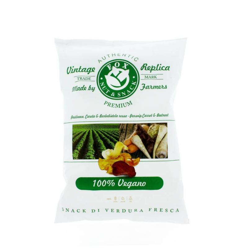 Fox Vegan Chips 150 gram