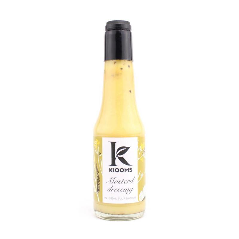 Kiooms Mosterd dressing blank 249 ml.