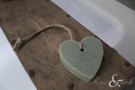 Zeepje hart groen