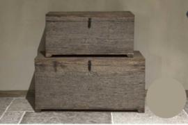 Robuust houten kist M