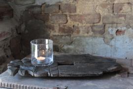 Oud houten bajot Aura Peeperkorn