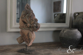 Antiek houten paard, groot