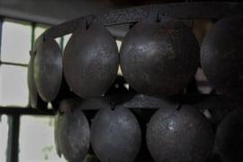 Hanglamp schijfjes zwart 60 cm
