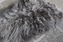 Schapenvacht grijs