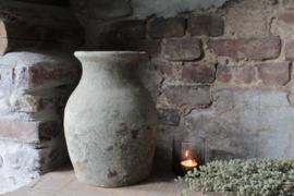 Oude stenen kruik
