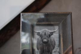 Houten fotolijstje 13x18 cm