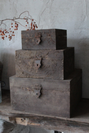 Kistje vierkant Aura Peeperkorn S