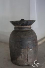 Nepalees kruikje met dekseltje nr. 25